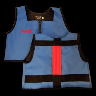 Royal Blue and Red Kinderlift Stability Vest