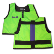 Lime Green and Purple Kinderlift Stability Vest