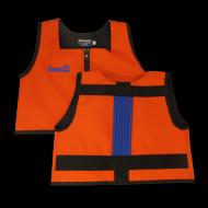Orange and Royal Blue Kinderlift Stability Vest