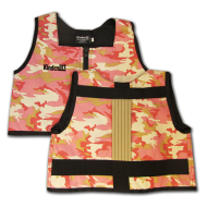 Pink Camo and Khaki Kinderlift Stability Vest