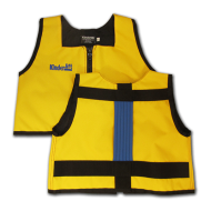 Yellow and Royal Blue Kinderlift Stability Vest