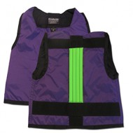 Purple and Green Kinderlift Stability Vest